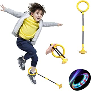 Sponsored Ad - nobrand Foldable Children's Ankle Skip Ball Color Flashing Jumping Ring Kids Fitness Sport Jump Ball Toy