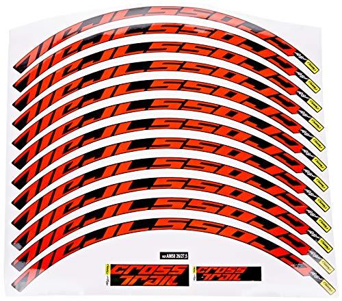 Ecoshirt 2X-APSD-0EGS Pegatinas Stickers Llanta Rim Mavic Cr