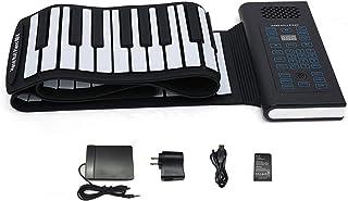 KMUSIC Roll Up Piano, Premium Grade Silicone, THICKENED KEYS
