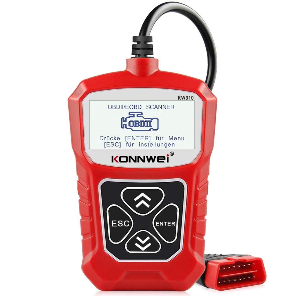 Konnwei Obd2 Diagnostic Tool Universal Car Fault Code Reader Kw310 Auto