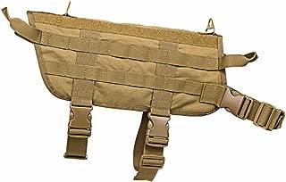 NcStar CVK93005TM VISM Medium Heavy Duty K9 Adjustable Tactical Vest – Tan