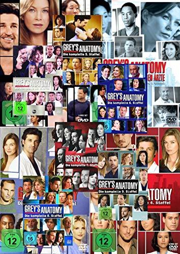 Grey´s (Greys) Anatomy - Die komplette Staffel/Season 1 - 13 [DVD] 77 Disc