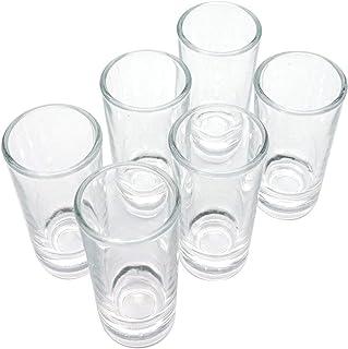 3 inch Heavy Base Shot Glass Set, Whiskey Shot Glass Set of 6
