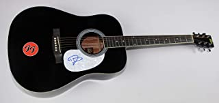 Nirvana Dave Grohl Signed Autographed Full Size Black Gibson Acoustic Guitar Loa