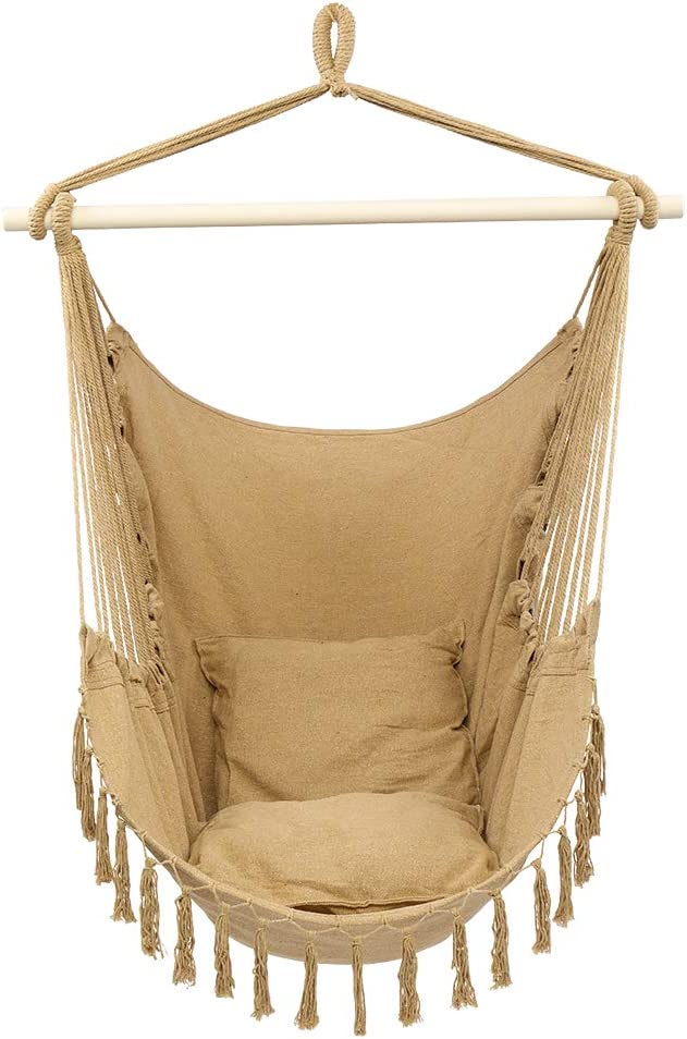 Portable Camping Hammock Swing Ultra-Cheap Deals Chair Hanging NEW before selling ☆ Rope for Indo