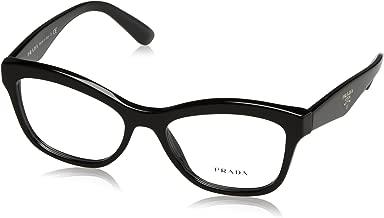 Prada PR29RV Eyeglass Frames 1AB1O1-54 - Black PR29RV-1AB1O1-54