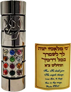 car mezuzah scroll