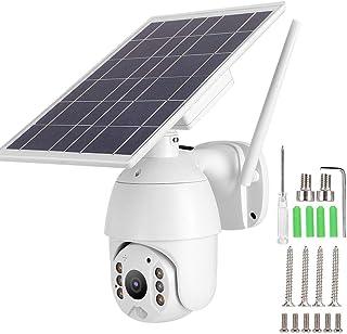 Sistema inteligente de monitoreo de telescopio nocturno solar, cámara PTZ, alarma impermeable WIFI, para interiores, exter...