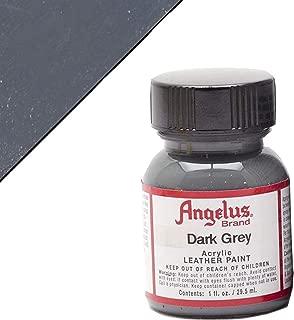 Angelus Leather Paint 1 Oz Dark Grey