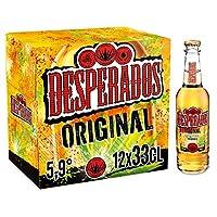Notre bière iconique, Desperados Original, est aromatisée tequila et présente une robe d'un jaune soleil, limpide et brillante. De fermentation basse, brassée avec du malt d'orge, elle titre à 5,9 % vol. À déguster bien fraîche entre 4°C et 6°C, Desp...