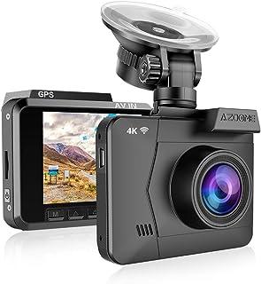 Dashcam Voiture AZDOME 4K WiFi GPS Caméra de Voiture Caméra Embarquée Voiture avec..