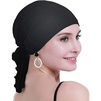 osvyo Bamboo Chemo Headscarf for Women Hair Loss - Cancer Slip On Headwear Turbans Sealed Packaging