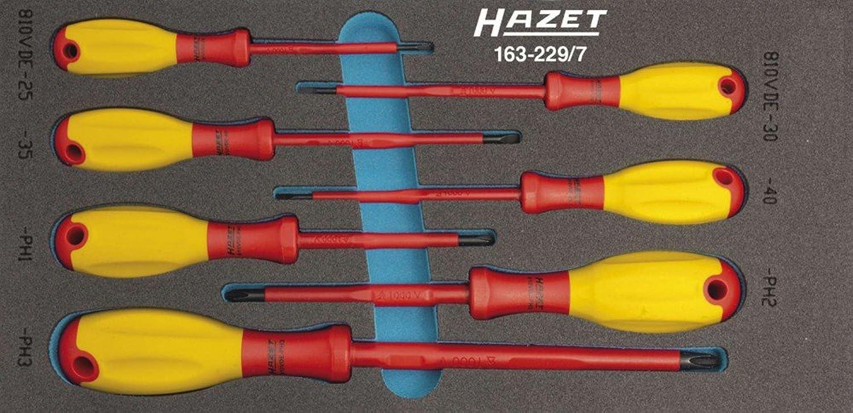 HAZET 163-229 7 VDE-Schraubendreher-Satz B00B0UQW4C | Qualität Produkte