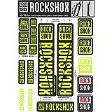 RockShox Pegatinas de 30forwardslash32mm y RS1Amarillo Neón, SID/Reba/Revelation ( 2018) Sector/Recon/X32/30g/30S/XC30, 11.4318.003.498Piezas de Repuesto, Amarillo, Estándar