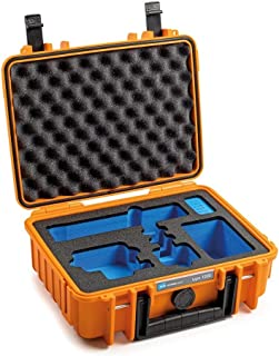 B&W transportkoffer outdoor voor GoPro 9 Type 1000 oranje - waterdicht conform IP67-certificering, stofdicht, onbreekbaar ...
