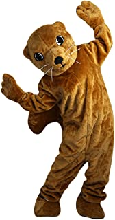 Brown Groundhog Gophers Mascot Costume Cartoon Character Adult Sz Real Picture