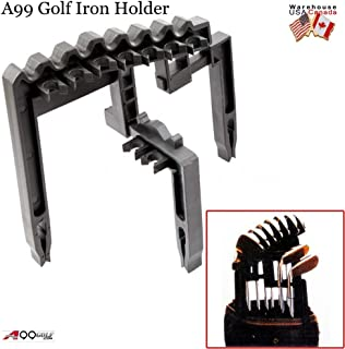 A99 Golf Club de Hierro 9Soporte Negro Universal
