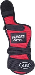 ABSフィンガーサポート 右利き用 ボウリング用リスタイ・グローブ