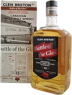 Glen Breton Battle of the Glen 15 Years Old Canadian Single Malt Whisky 1 x 0.7 l