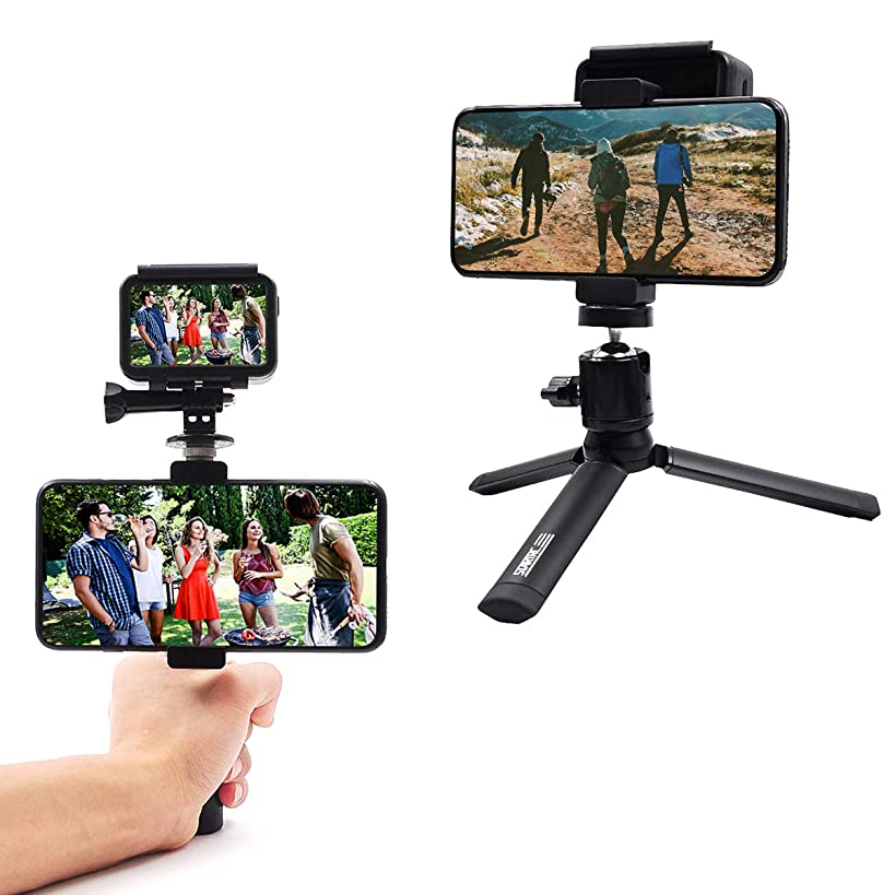 TOMAT OSMO Action Camera Tripod Mount,Handheld Aluminum Tripod Stand Holder for DJI OSMO Action Accessories