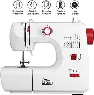 Kranich Sewing Machine 2 Speed 16 Stitches Double Thread Needle Portable Sewing Machine 24W