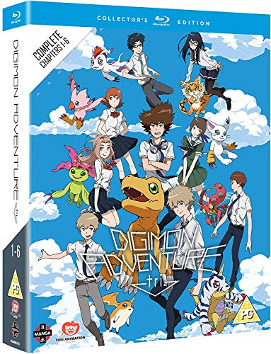 Digimon Adventure Tri: The Complete Movie Collection Blu-Ray (6 Blu-Ray) [Edizione: Regno Unito]