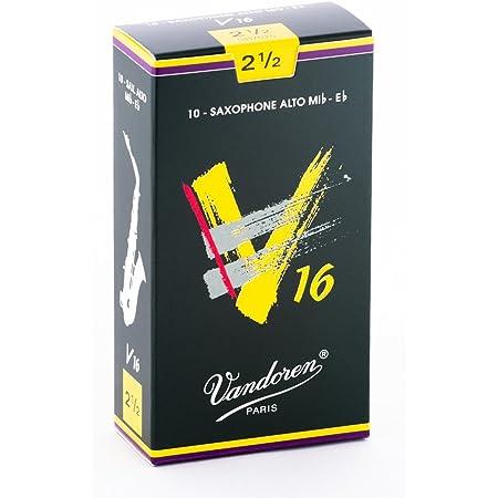 Vandoren SR7025 V16 10 Anches pour Saxophone Alto 2,5