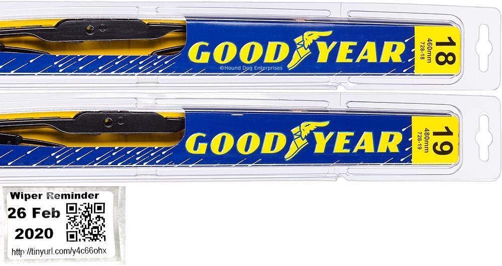 Premium - Windshield Wiper Blade Set Bundle Cheap super special price Mi 2002-2012 for Memphis Mall Kit
