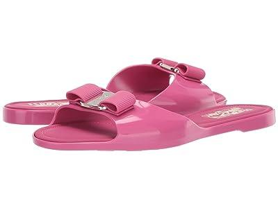 Salvatore Ferragamo Cirella Slider Sandal (Bubble Gum Tomaio Compa) Women