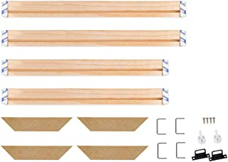 WITUSE Wood Stretcher Bars Painting Canvas Wooden Frame for Gallery Wrap Oil Painting,Art Stretcher Bars,Canvas Mounting Kit-16
