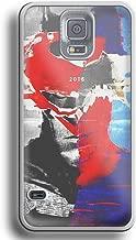 BATMAN vs SUPERMAN mashup poster For Samsung Galaxy S5 white