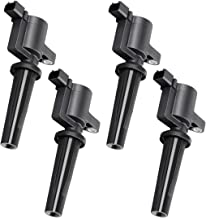 Ignition Coils Pack of 4 for Ford Escape - Focus -Transit Connect - 2004-2005 Mazda 3 - Mercury Mariner - L4 2.0L 2.3L - Fit 4M5Z12029B