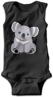 Cute Australia Koala Bear Unisex Baby Sleeveless Onesies Baby Bodysuits Rompers