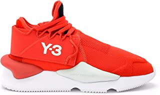Y-3 Man's Kaiwa Knit Red Fabric Sneaker