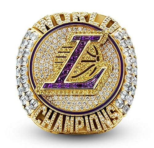 2020 Basketball Commemorative Crystal Version Detachable Ring and Exquisite Wooden Box, Used to Store Fan Gifts