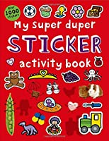 My Super Duper Sticker Activity Book (Color and Activity Books)