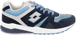 Lotto Luxury Fashion Mens 211149OUTERSPACE Light Blue Sneakers   Fall Winter 19