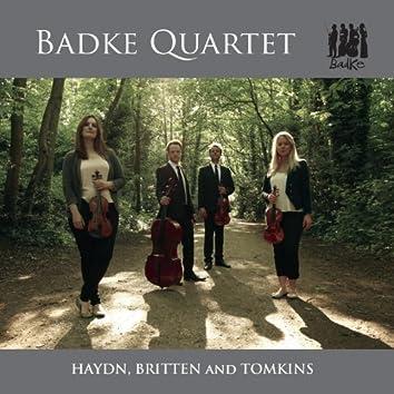 Haydn, Britten and Tomkins