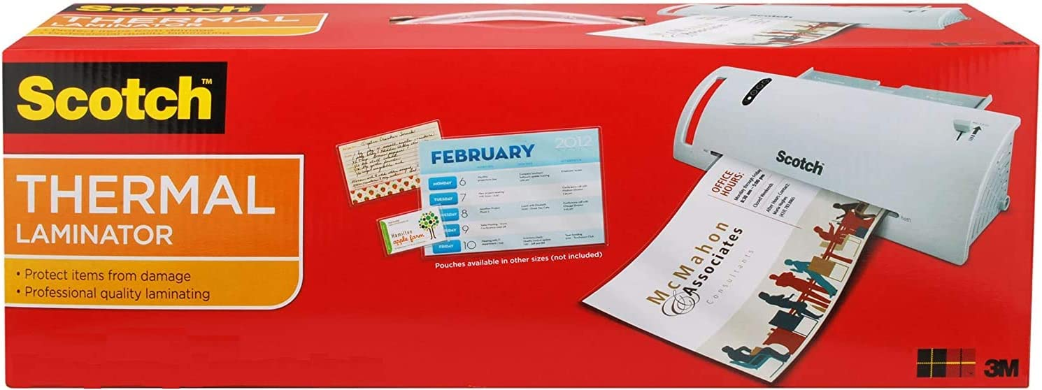 Super Special SALE held Scotch Thermal Laminator Combo Pack Lam 20 Includes Letter-Size 2021 autumn and winter new