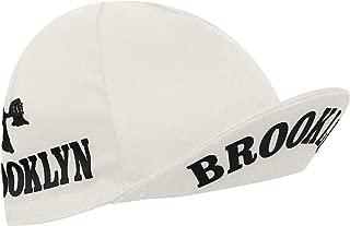 Brooklyn New York City Cycling Cap - White