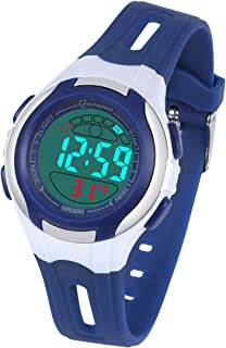 Kids Digital Watch, Watch for Kids Boys Girls Sports Child Watches Waterproof with LED Lights Alarm Stopwatch Hour Minute Second Date Week Month Wrist Watches for Children 4-15 Years Old
