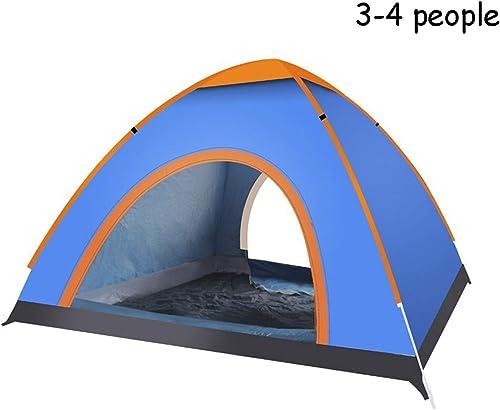 LiRongPing Extérieur Tente escamotable pour Tente de Camping 3-4 Personnes Prougeection UV imperméable InsTailletion Rapide InsTailletion légère et compacte (Taille   Big)