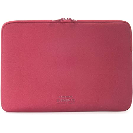 Tucano 2nd Skin New Elements Sleeve For 13 Inch Macbook Pro Retina Red Amazon Co Uk Computers Accessories