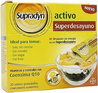 BAYER Supradyn activo go 20 sobres granulado