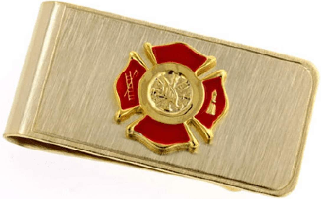 Executive National uniform free shipping Gift Shoppe Clip Money Firefighter's Sale item