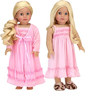 """Belle dress Inspired by Beauty and the Beast for American girl 18/"""" Doll 4pc"""