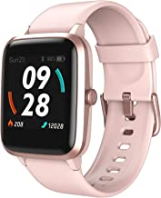 LETSCOM Smart Watch, GPS Running Watch Fitness Trackers with Heart Rate Monitor Step Counter Sleep Monitor, IP68 Waterproo...