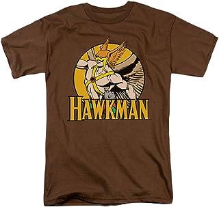 Hawkman círculo marrón camiseta