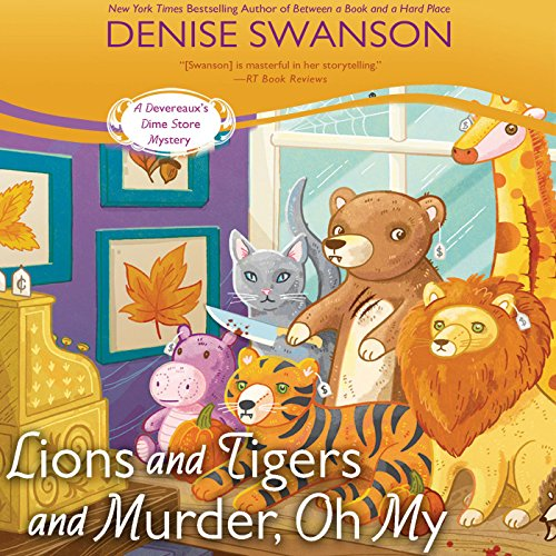 Lions and Tigers and Murder, Oh My cover art