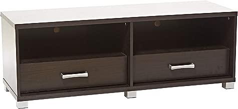 AFT Wooden Mini TV Cabinet with Rack, Dark Brown, 120 x 40 x 43 cm, AFT2616